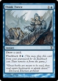 Magic the Gathering Time Spiral Single Think Twice Foil - SLIGHT PLAY (SP)