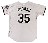 Frank Thomas Autographed Chicago White Sox Jersey (PSA)