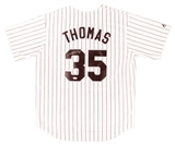 Frank Thomas Autographed Chicago White Sox White Jersey (PSA)