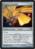 Magic the Gathering Mirrodin Besieged Single Thopter Assembly UNPLAYED (NM/MT) 4x Lot