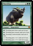 Magic the Gathering Conflux Single Thornling Foil