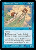 Magic the Gathering Urza's Legacy Single Thornwind Faeries Foil UNPLAYED