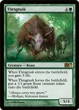 Magic the Gathering 2013 Single Thragtusk FOIL