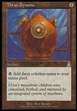Magic the Gathering Urza's Destiny Single Thran Dynamo - MODERATE PLAY (MP)