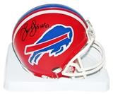 Thurman Thomas Autographed Buffalo Bills Football Mini-Helmet w/ HOF inscription