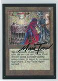 Magic the Gathering Beta Artist Proof Time Vault - SIGNED BY MARK TEDIN