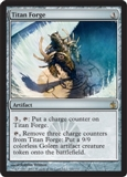 Magic the Gathering Mirrodin Besieged Single Titan Forge UNPLAYED (NM/MT)