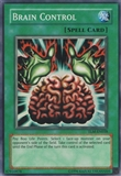 Yu-Gi-Oh The Lost Millennium Single Brain Control Super Rare 1st Edition
