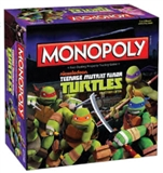 Teenage Mutant Ninja Turtles (Cartoon) Monopoly Board Game (USAopoly) (Presell)