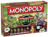 Teenage Mutant Ninja Turtles Collector's Edition Monopoly Board Game (USAopoly)