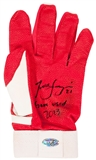 Todd Frazier Autographed and Game Used Batting Glove with Inscription