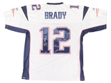 Tom Brady Autographed New England Patriots Reebok On Field Jersey (Mounted Memories)