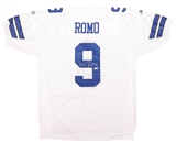 Tony Romo Autographed Dallas Cowboys Reebok On Field Jersey (UDA)