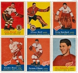 1957/58 Topps Hockey Complete Set (VG/EX)