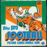 1982 Topps Football Cello Box