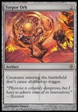 Magic the Gathering New Phyrexia Single Torpor Orb FOIL - NEAR MINT (NM)