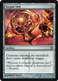 Magic the Gathering New Phyrexia Single Torpor Orb UNPLAYED (NM/MT)