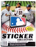 2011 Topps Baseball Hobby Sticker Album