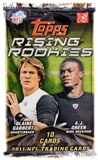 2011 Topps Rising Rookies Football Retail Pack