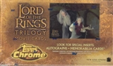 Lord of the Rings Trilogy 36 Pack Box (Topps Chrome)