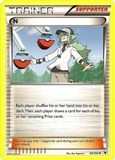 Pokemon Noble Victories Single Trainer N 92/101 - NEAR MINT (NM)
