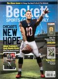 2017 Beckett Sports Card Monthly Price Guide (#389 August) (Mitch Trubisky)