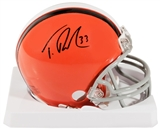 Trent Richardson Autographed Cleveland Browns Mini-Helmet (Richardson COA)