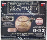 2014 TriStar Hidden Treasures New York Dynasty Baseball Hobby Box