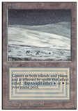Magic the Gathering Unlimited Single Tundra - MODERATE PLAY (MP)