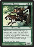 Magic the Gathering Zendikar Single Turntimber Ranger - NEAR MINT (NM)