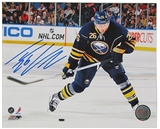 Thomas Vanek Autographed Buffalo Sabres 8x10 Hockey Photo