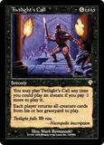 Magic the Gathering Invasion Single Twilight's Call UNPLAYED (NM/MT)