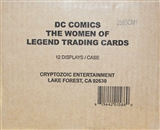 DC Comics: The Women of Legend Trading Cards 12-Box Case (Cryptozoic 2013)