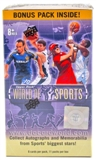 2011 Upper Deck World of Sports 11-Pack 10-Box Lot