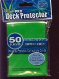 Ultra Pro Yu-Gi-Oh! Size Serpent Green Deck Protectors (60 Count Pack)