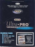 Ultra Pro 15 Pocket Platinum Pages ( 100 count box )