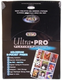 Ultra Pro Platinum 9-Pocket Pages 1,000 Count Case