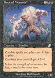 Magic the Gathering Scourge Single Undead Warchief - NEAR MINT (NM)