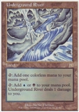 Magic the Gathering Deckmaster Single Underground River