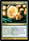 Magic the Gathering Gatecrash Single Unexpected Results UNPLAYED (NM/MT)