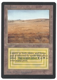 Magic the Gathering Unlimited Savannah - MODERATE PLAY (MP) - ALTERED BLACK BORDER
