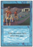 Magic the Gathering Unlimited Single Time Walk - SLIGHT PLAY (SP)