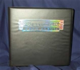 "Ultra Pro 3"" Black Card Collectors Album (12 Count Case)"