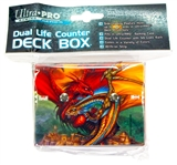 Ultra Pro Go For The Throat Deck Box with Dual Life Counter by Monte Moore