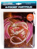 Ultra Pro Monte Exalted Small Card 4-Pocket Portfolio (10 Pages)