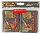 Ultra Pro Magic the Gathering Skarrg Deck Protectors Horizontal (80 count pack)