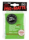 Ultra Pro Lime Green Pro-Matte Deck Protectors (50 count pack)