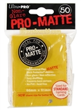 Ultra Pro Yellow Pro-Matte deck protectors (50 count pack)