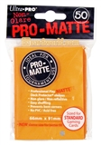 Ultra Pro Orange Pro-Matte Deck Protectors (50 count pack)
