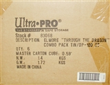 Ultra Pro Elmore Through the Pass Tin Deck Vault & 100ct Deck Protectors Combo 6ct Case